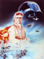 The Empire strikes back - Oil by CiaraMcAvoy