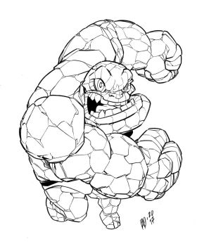 THE THING - DEFORMED by Urz-Rulez