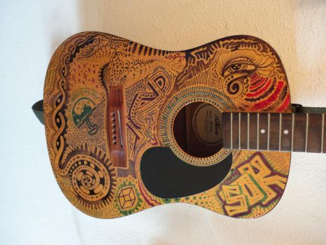 Guitar Art by Samuel81