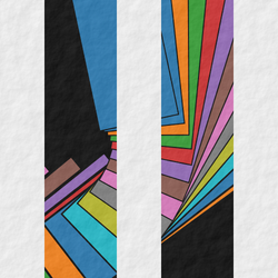 Colorful panels by GeometricArt