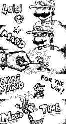 Miiverse art - New Super Mario Bros U by Oloring