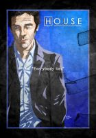 Gregory House by Lucius-Ferguson