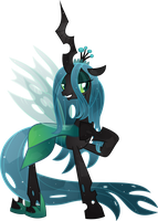Crystal Queen Chrysalis by TheShadowStone