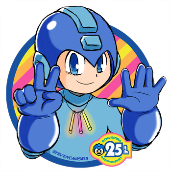 Happy Birthday, Mega Man! by stevenchase