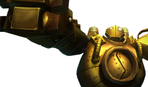 Blitzcrank Render by VOiD-Zormak