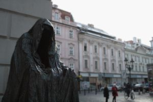 Dementor in Prague by SugarZombieDoll