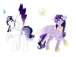 [NG-Dreamverse] Alicorn Twins by DreamCloudAdopts