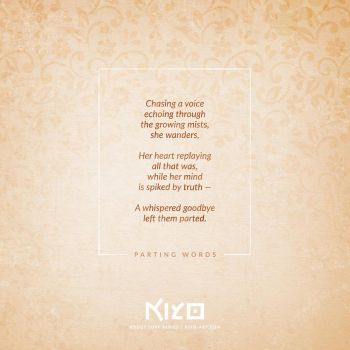 Parting Words by Kiyo-Poetry