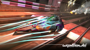Wipeout Omega Collection Wallpaper 02 by JJteam