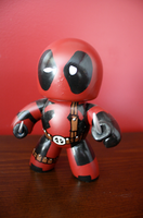Mighty Mugg Deadpool by DESIGNOOB