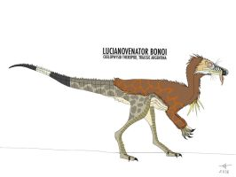 LUCIANOVENATOR by HUBLERDON