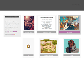 Pure + Night 1.0 Gallery CSS (Archived) by Gasara