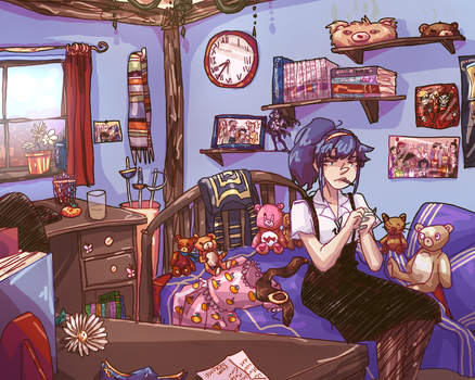 lucinas room by omoulo