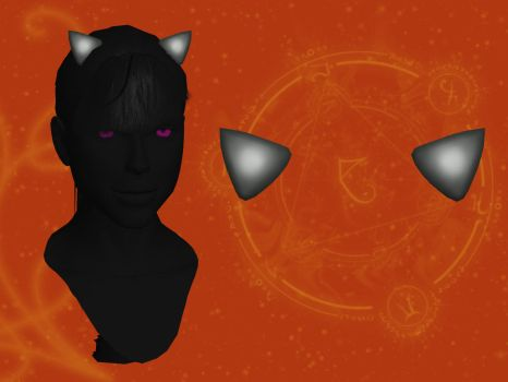 Cat Ears [XPS] by LexaKiness