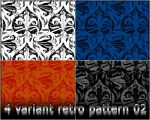 4variants retro pattern 02 by Rizl4