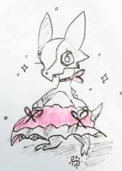 Cubone in a tutu by goatsarecute