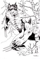 DND Paris : Wolverine by emalterre