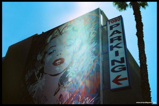 The Marilyn parking by arnaudlegrand