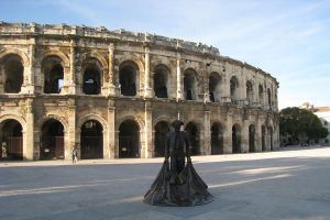 France, Nimes Arenes torero by elodie50a