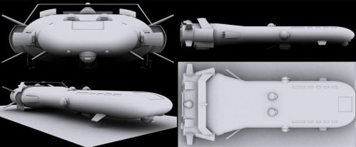 Astoria-class Executive Transport WIP by dslironworks