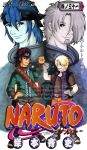 Naruto Manga Cover - Regardless, Were Brothers by mistressmaxwell