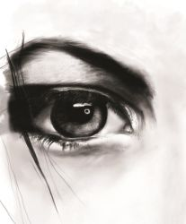 Eye Study by scarredfeathers
