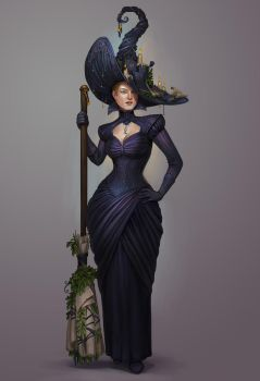 Petra Ioffe, the Supreme Witch by Sedeptra