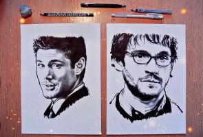 deanwinchester and willgraham by ieroslaugh