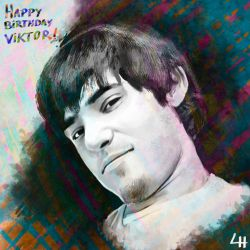 Happy Birthday Viktor Titov by leandroh00
