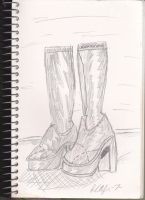 These boots are made 4 walking by Lance-Danger