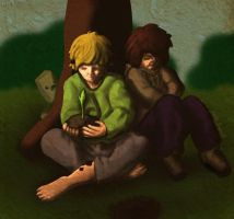 Sapling (inthelittlewood and sototallytoby) by McFlynder