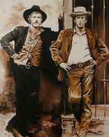 Butch and Sundance by fourquods
