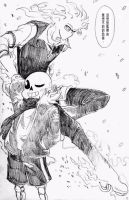 Sansby x Air Gear AU comic by nongost1