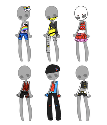 Outfit Adopts CLOSED by Artistic-Mii-Adopts