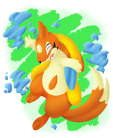 Floatzel by Pixellem