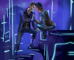 Tales from the Borderlands - Rhys and Fiona by SP-hera