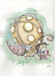Big Daddy Little Sister by AngelOnofre