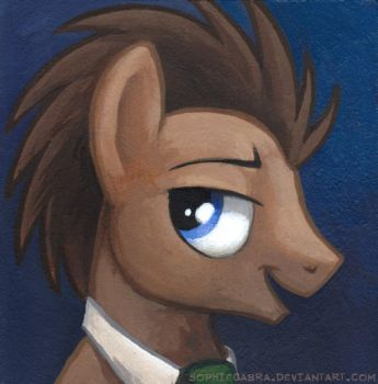 Square Series - Dr. Whooves by SpainFischer