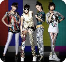 2NE1 by BadChemicalGirl