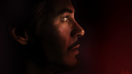 Tony Stark - Digi-paint by Lasse17