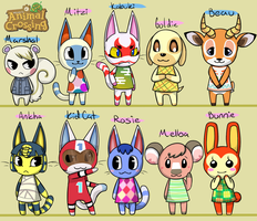 Animal Crossing New Leaf- Village Parade by Fire-Girl872