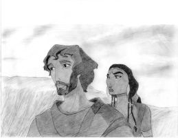 The Prince of Egypt: Moses and Tzipporah by mtman318