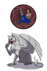 Gryphon Ate Barb by Goldy--Gry