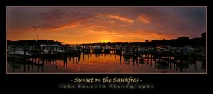 Sunset on the Sassafras by barefootphotography