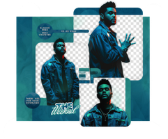 PACK PNG 481 // THE WEEKND by ELISION-PNGS