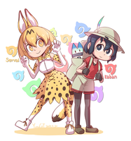 serval and kaban by noyoonho