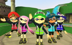 My 4 best and awesome friends! by AlonsoA1102