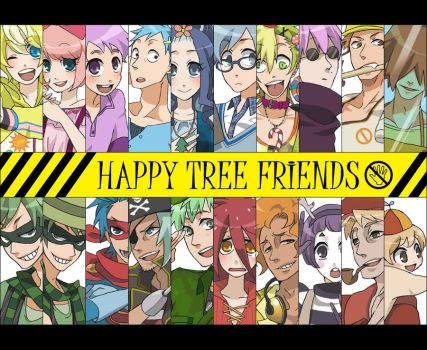 Happy Tree Friends [Anime Version] by Battagua