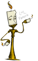 Lumiere Doodle- LOL FRENCH by NitrusOxide