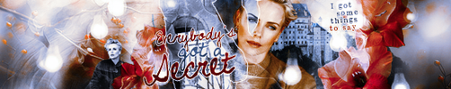 Banner: Secret by Rosesylla